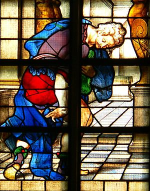 English: The stained-glass window number 27 (d...