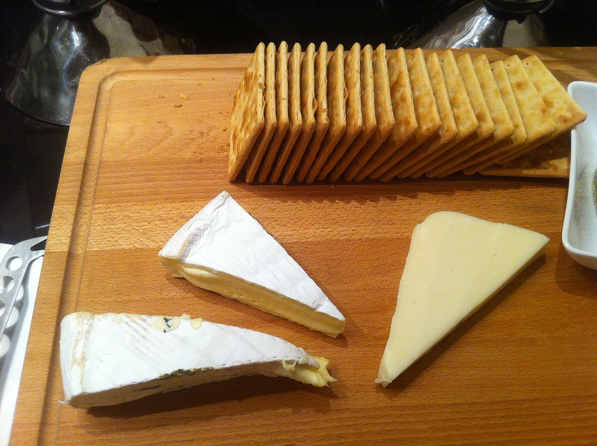 Cheese and crackers  Wikipedia