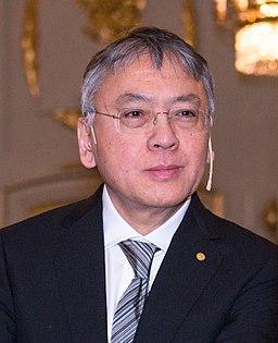 Kazuo Ishiguro in Stockholm 2017