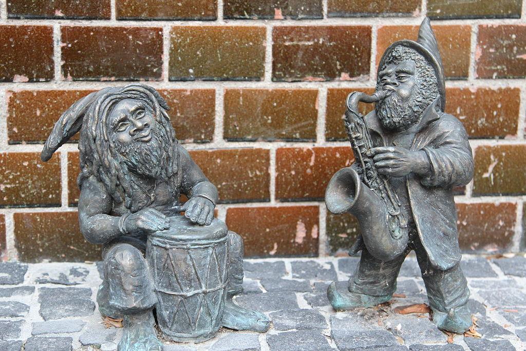 Krasnale tolerancji (Tolerance Dwarves) Wroclaw dwarf 02
