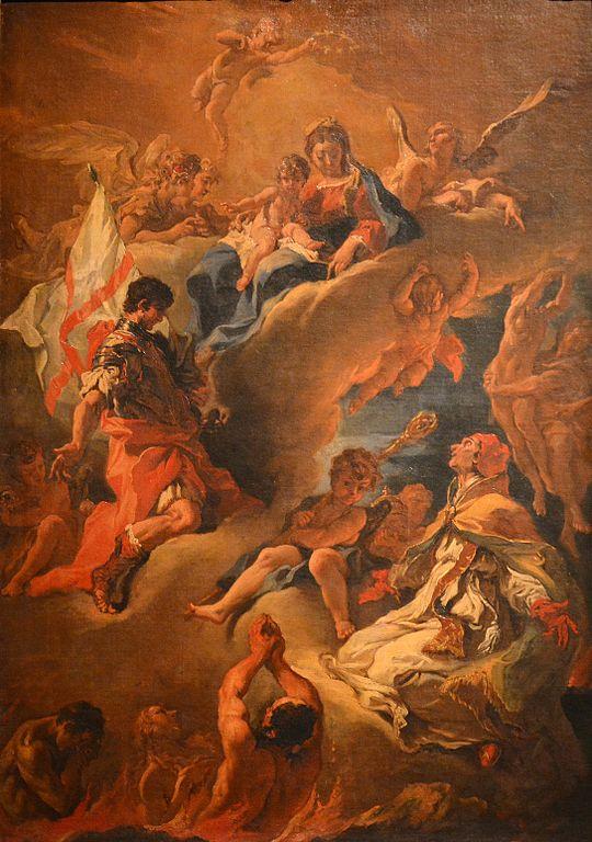 FileLa Vergine intercede per le anime del Purgatorio
