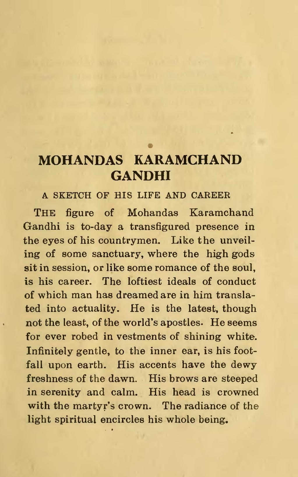 Page Mahatma Gandhi His Life Writings And Speeches Djvu