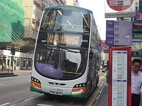 過海隧道巴士970X線 - 維基百科,自由的百科全書