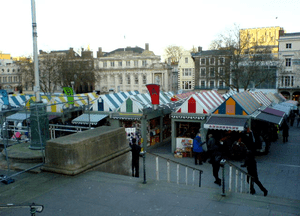 Photo of Norwich Market, that I took myself.