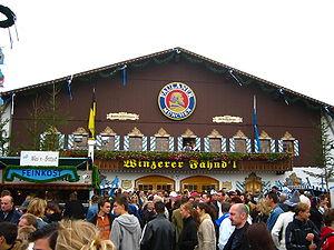 Oktoberfest 2005 - Paulaner-Festhalle - front