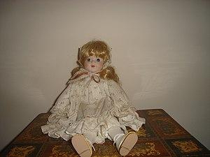 A Porcelain Doll.