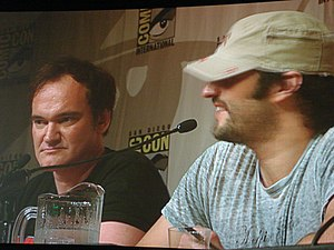 Italiano: Quentin Tarantino e Robert Rodriguez...