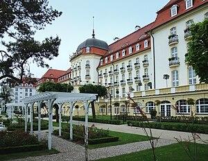 English: Grandhotel in Sopot, Poland Deutsch: ...