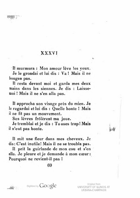 Pourquoi Moi Et Pas Un Autre : pourquoi, autre, Page:Tagore, Jardinier, D'amour,, 1920.djvu/77, Wikisource