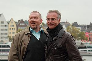 Deutsch: Dietmar Bär und Klaus J. Behrendt als...