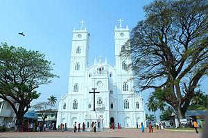 Vallarpadam church in Ernakulam, Kerala