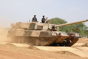 Arjun MBT bump track test.JPG