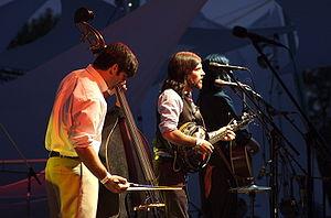 English: The Avett Brothers at Pickathon 2006