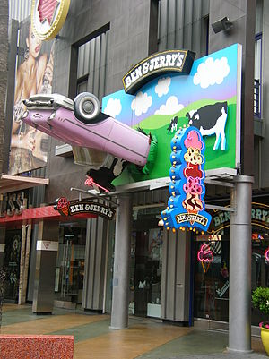 Ben & Jerry's at Universal CityWalk Hollywood.