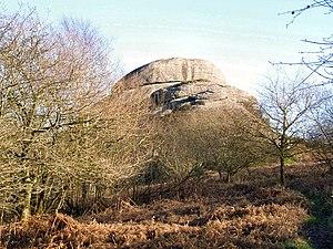 English: Blackingstone rock Behemoth - one wor...