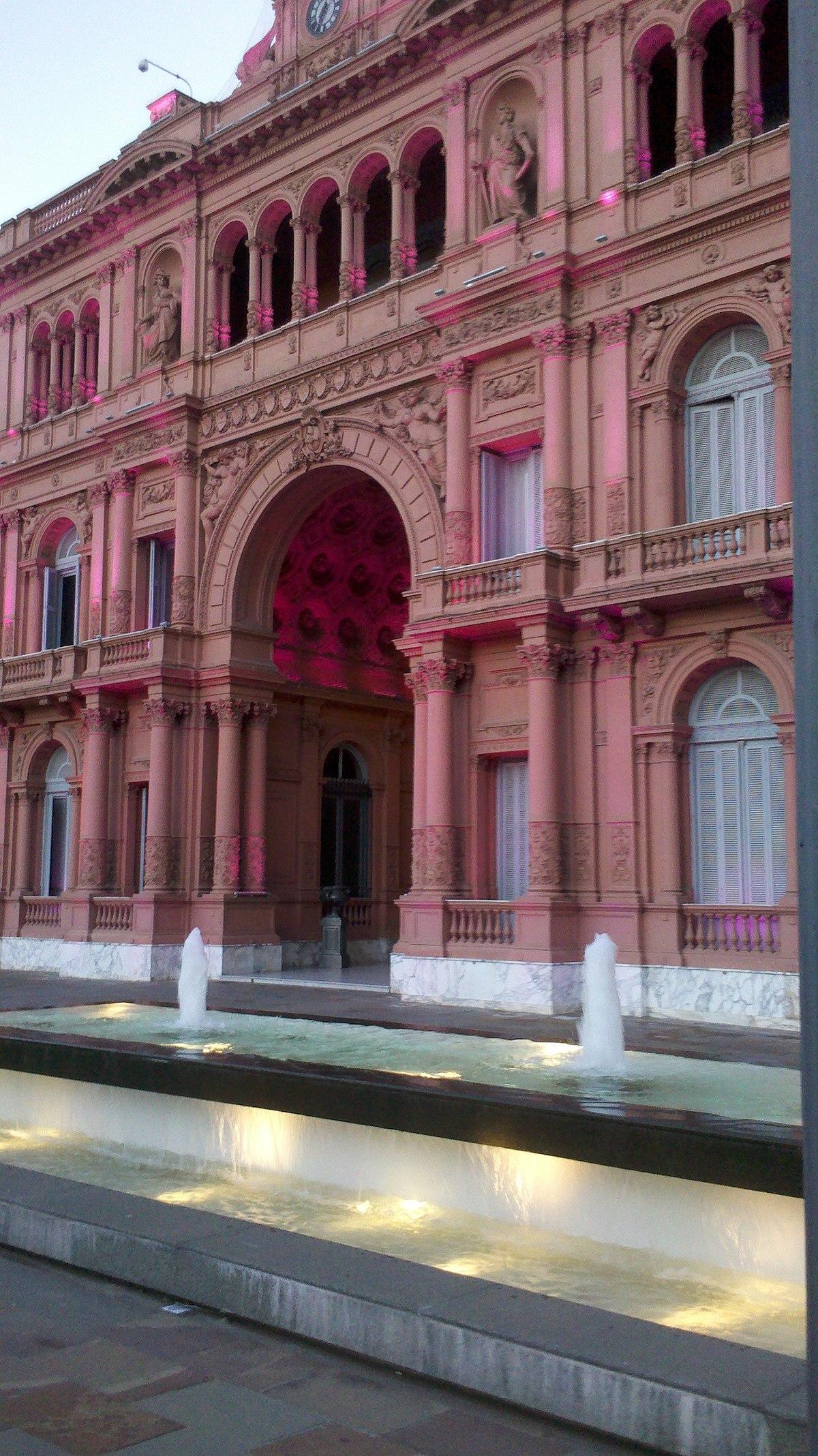 Casa Rosada  Wikipedia a enciclopedia libre