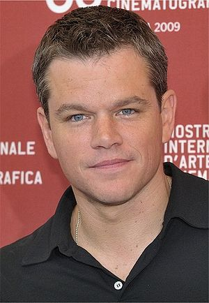 English: Matt Damon at the 66th Venice Interna...