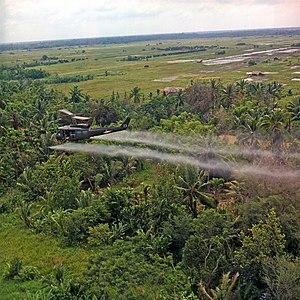 Vietnam. Defoliation Mission.
