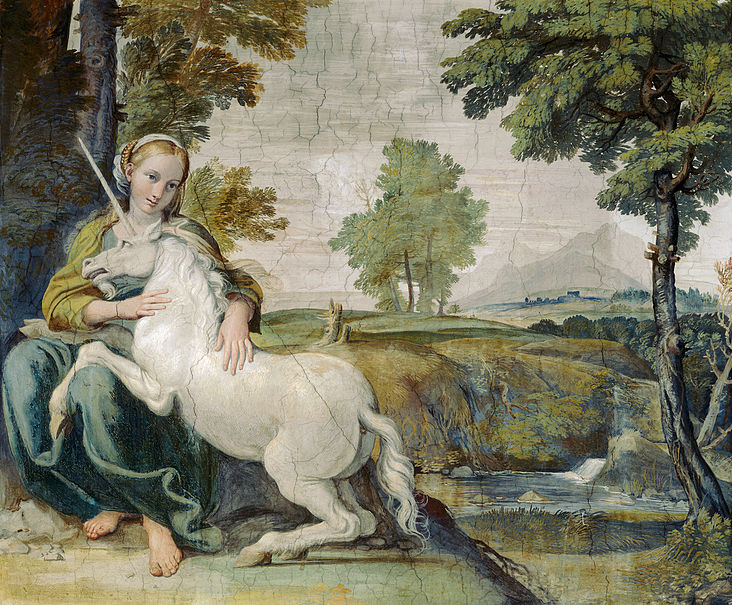 Domenico - Virgin with a Unicorn