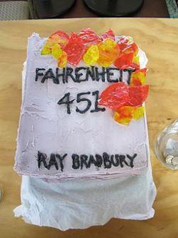 Edible Book Contest Farenheit 451 (Bradbury)