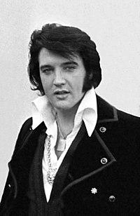 Elvis Presley en la Casa Blanca en 1970
