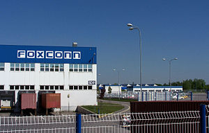 Česky: Foxconn Pardubice