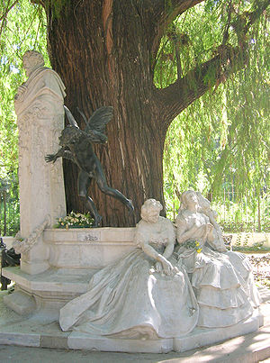 Description: Romantic monument to local poet G...