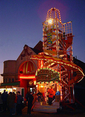 English: Ilkeston Fair is one of the oldest st...
