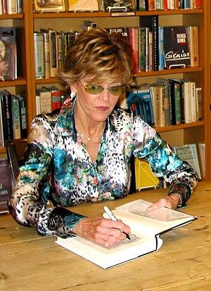 Jane Fonda at a book signing, 2005