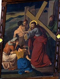 Jesus meets the daughters of Jerusalem Zarnowiec