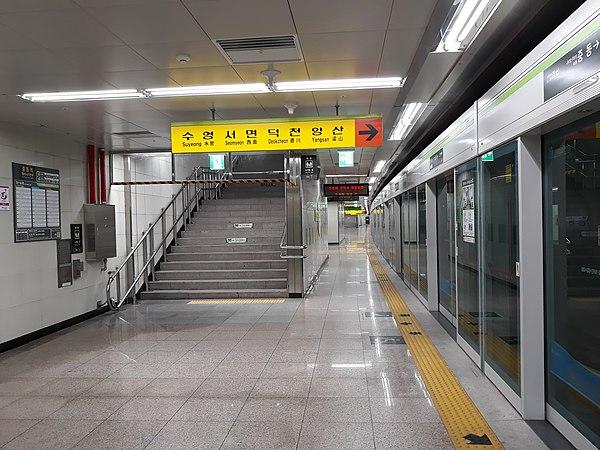 中洞站 (釜山) - Wikiwand