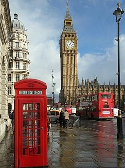 London Big Ben Phone box