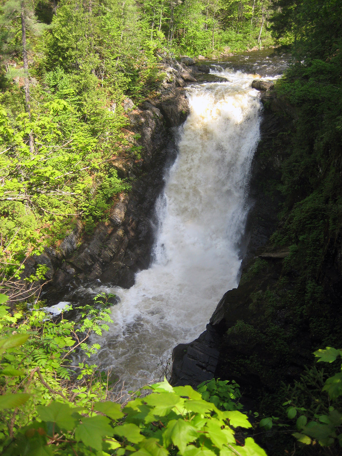 Moxie Falls Wikipedia