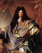portrait de louis xiv en costume de