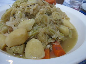 Potée is a French culinary term which, in gene...