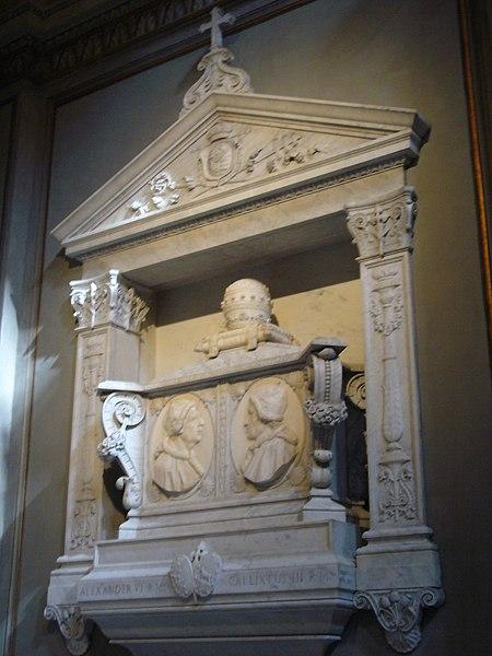 Archivo:Regola - s M Monserrato tomba Borgia 1050567.JPG