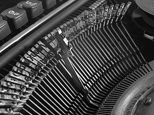 Typewriter, Schreibmaschine, Typen