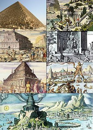 The seven wonders of the ancient world (from l...