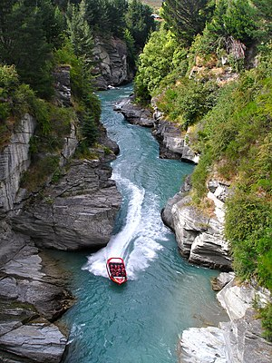 Shotover Jet is the only company permitted to ...