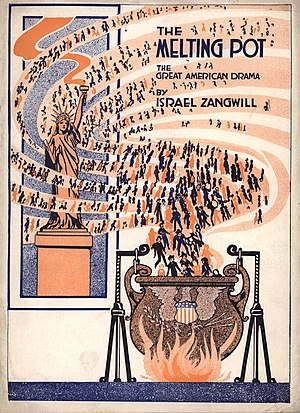 Cover of Theater Programme for Israel Zangwill...