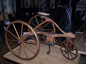 Antique Tricycle (Nationaal Fietsmuseum Velora...