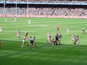Geelong Football Club wins its first AFL Grand...
