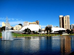 English: Adelaide Festival Centre from the nor...