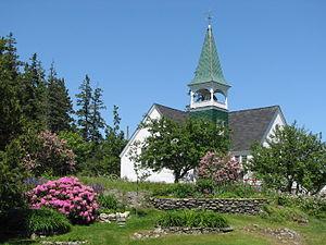 Français : Église de Cranberry Isles