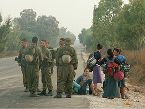 March 4, 2005. Civilians attempting to infiltr...