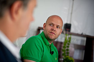 July 21st, 2011--Aspen, CO, USA Daniel Ek, CEO...