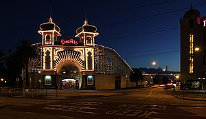 English: Luna Park in St Kilda, Melbourne