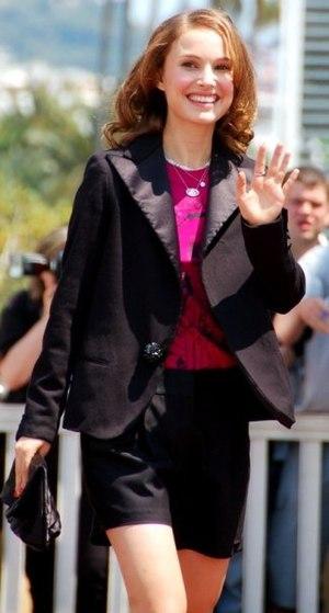 English: Natalie Portman at the Cannes Film fe...