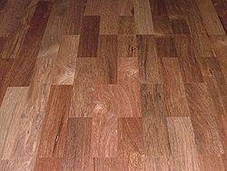 Kayu merbau, sebagai lantai parket