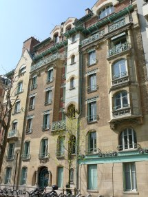 Art Nouveau Building Paris